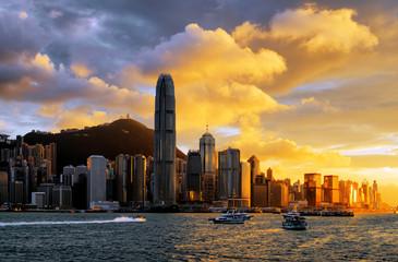 Foto auf Acrylglas Hongkong Hong Kong