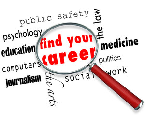 Find Your Career - Magnifying Glass