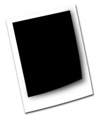 Black photo frame