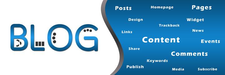 Blog Banner with Keywords