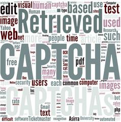 CAPTCHA Concept