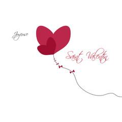 Coeur Fête Saint Valentin