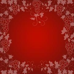 rot, wein, weinblatt, weintraube, hintergrund, vektor, vine,
