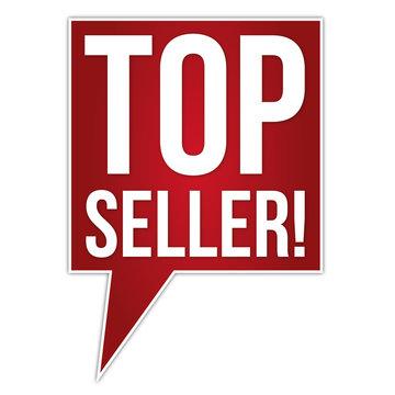 Button Banner Topseller / Meist verkauft