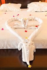 chambre romantique pour nuit de noces