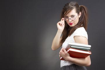 sexy student