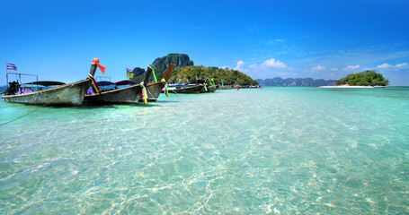 Long tailed boat in Thailand