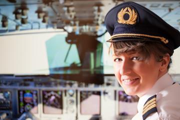 Airline pilot Fototapete