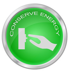 Conserve Energy button