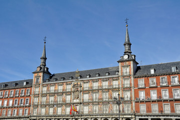 Plaza Mayor (Main square). Madrid. Spain