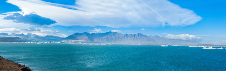 Fotobehang Gletsjers jokulsarlon glacial lagoon