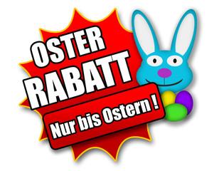 """Siegel """"Oster Rabatt - Nur bis Ostern !"""""""