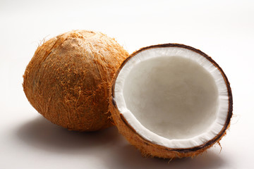 Coconut with coconut milk