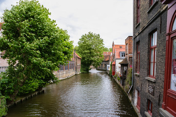the channel in bruges