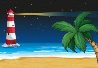 A parola in the beach