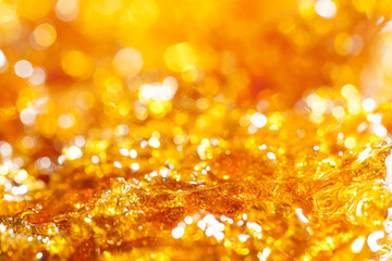 caramel gold glitter