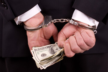 white collar corruption - fototapety na wymiar