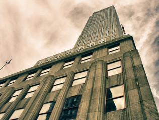 Fototapete - Architecture of New York City