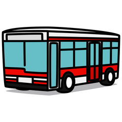 Cartoon Car 74 : City Bus