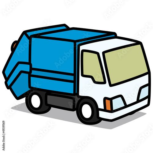 garbage truck cartoon - photo #18