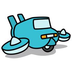 Cartoon Car 81 : Flying Car