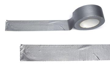 Silver gaffa tape role
