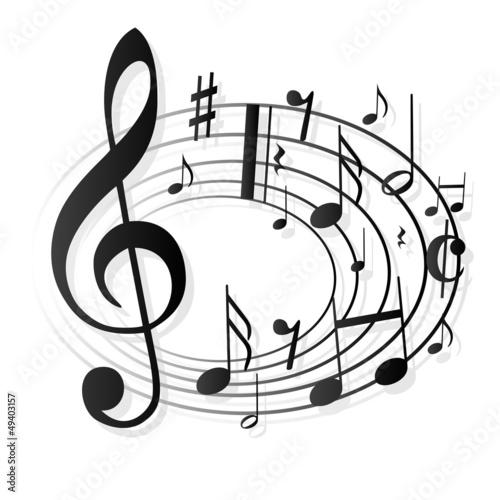 notenschl ssel noten musik stockfotos und lizenzfreie vektoren auf bild 49403157. Black Bedroom Furniture Sets. Home Design Ideas