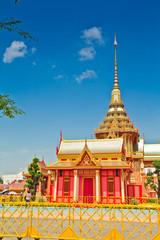 Thai royal funeral in bangkok thailand