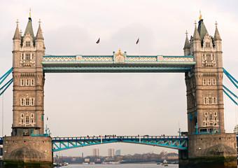 Fond de hotte en verre imprimé Pont Tower Bridge, London, UK