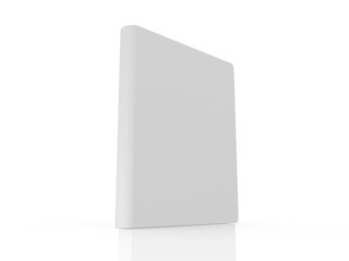 Realistic Blank Book Standing