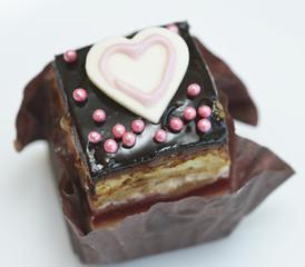 小さなチョコレートケーキ
