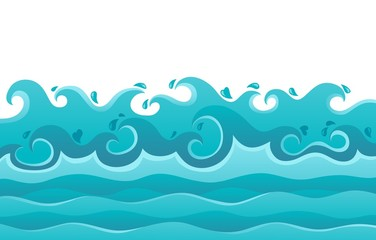 Waves theme image 6