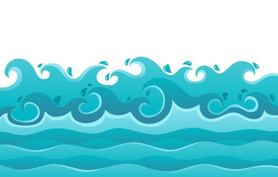 Waves theme image 6