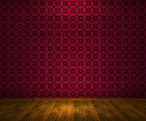 Red Interior Background