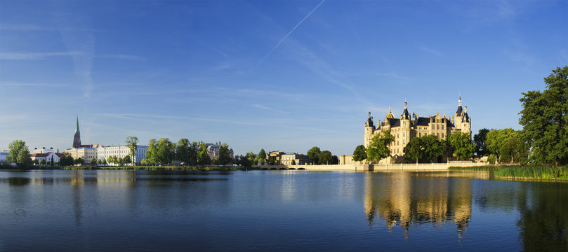 Schwerin Castle Panorama
