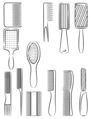 Combs for hair
