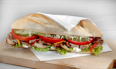 etli sandviç