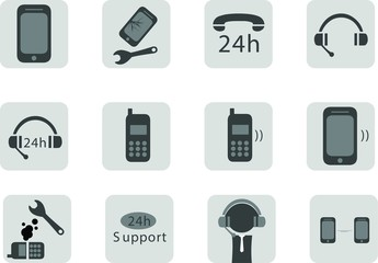 Icon Telephone Pack