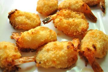 Appetizer of Breaded Shrimp