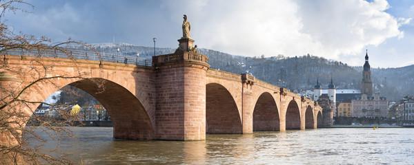 Fotomurales - Alte Brücke Panorama