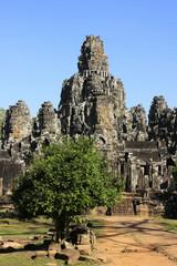 Bayon temple, Angkor area, Siem Reap, Cambodia