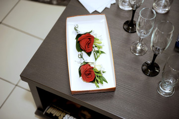 Rose Boutonniere in Box