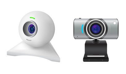 Two webcams