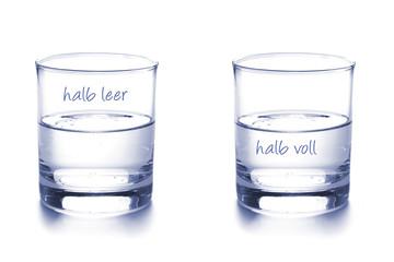 Optimist und Pessimist