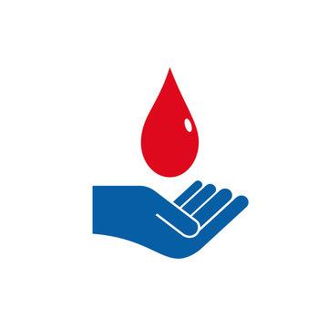 Logo Blood Donation # Vector