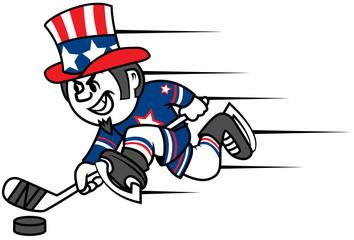 Hockey Uncle Sam