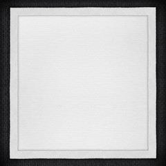 white paper background in white canvas frame