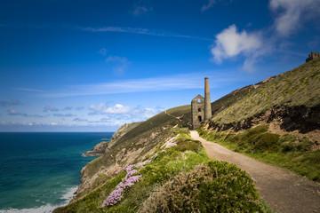 Coastal Tin Mine, Cornwall, UK