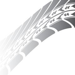black tire track design for your transportation website