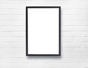 Poster auf Backstein